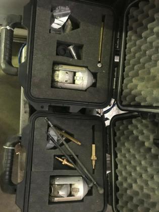 Satelittenkamera IBAK Lisy als Fahrzeugenbau mit Lisy und KRA 65 und 2x Orion