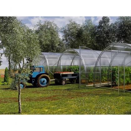 MEGA Gewächshaus - Treibhaus FARMER 6m breit