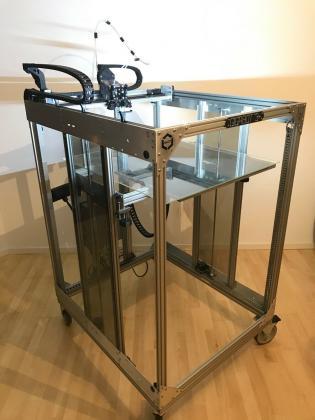 3D-Drucker, Large 3D Printer GIGABOT XLT 3+, 730mm x 770mm x 900mm