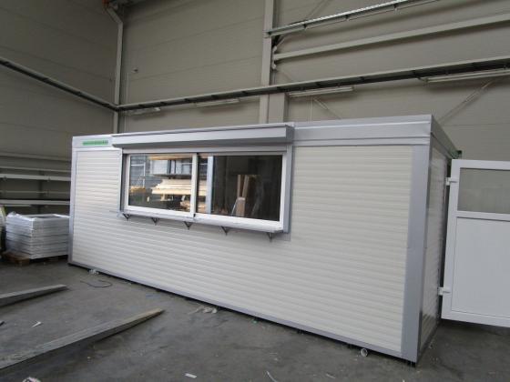 Imbisscontainer, Verkaufscontainer, Container mit Toilette