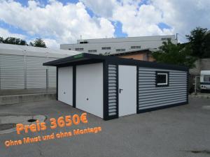 Garage, Blechgarage, Autogarage, Carport