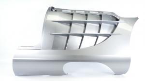 Mercedes Mclaren SLR Kotflügel vorne rechts front RH Fender Wing Komplett