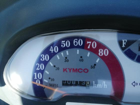 KYMCO ZX 50 SUPER FEVER BAUJAHR 2014 NUR 813 KM