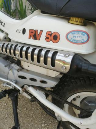 Suzuki RV 50 Moped / Mofa 01/1975 EZ 14.000 km 50 ccm