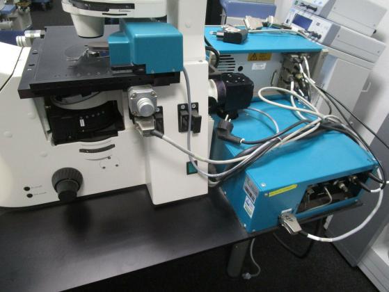 Zeiss Axiovert 200 HAL 100 Palm MicroBeam System Laser Mikrodissektion