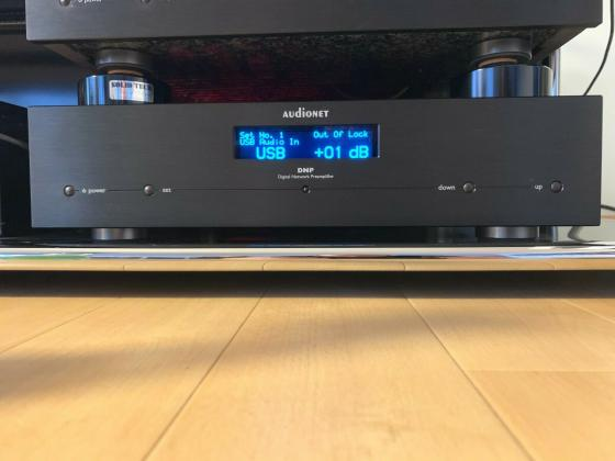 Audionet DNP High-End Netzwerkplayer / Vorverstärker