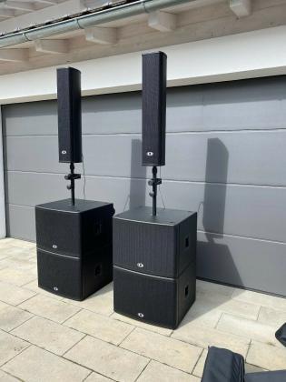 Dynacord VA 415 System 2x TS 400, 2x PSD 215, 2x PSE 215, 2x TA-TS400 wie Neu!