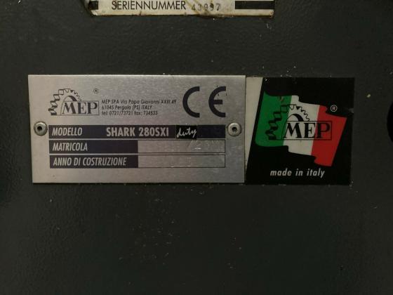 Industrie-Metall-Bandsäge MEP SHARK 280SXI