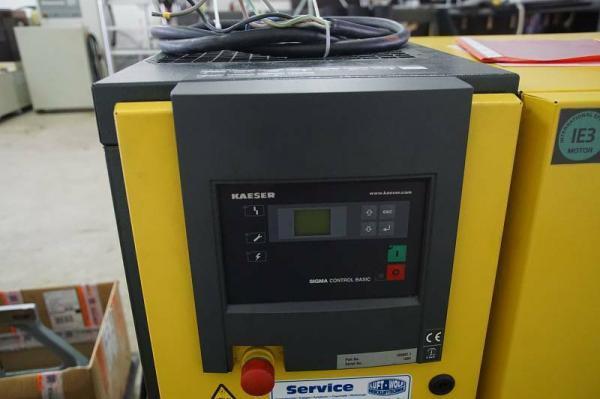 Kompressor-Anlage Kaeser ASK2715 kW, 11 bar, Kältetrockner TB18, Drucktank