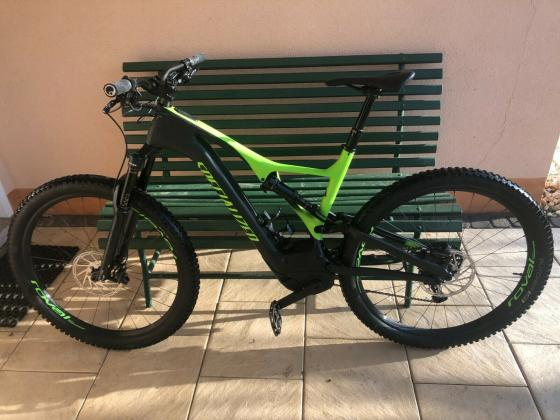 Specialized Turbo Levo Expert Carbon XL, Monster Green, 700Wh, Rest-Garantie