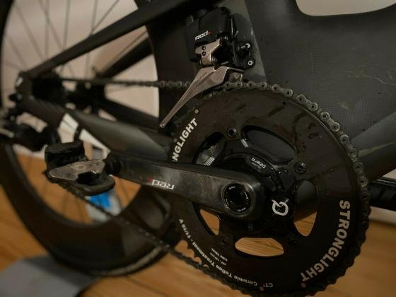 Triathlon Zeitfahrrad Felt IA RH58 cm, Reifengröße 28 Zoll