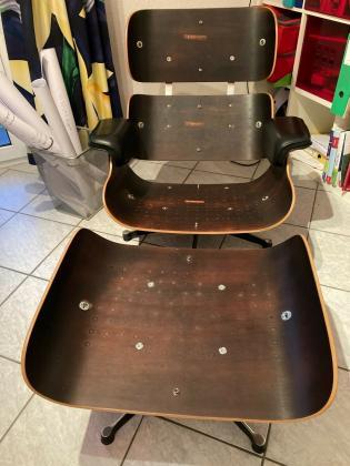 Vitra Eames Lounge Chair 70er Jahre Vintage Design Klassiker Leder Sessel