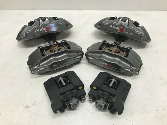 Audi CERAMIC R8 komplette 2014 Bremsanlage Ceramic Bremsen 150 KM 380mm 356mm