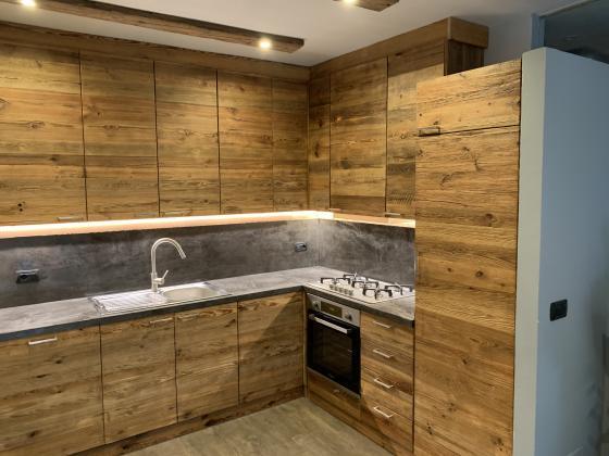 Küchenfronten aus Altholz - ALLDECO