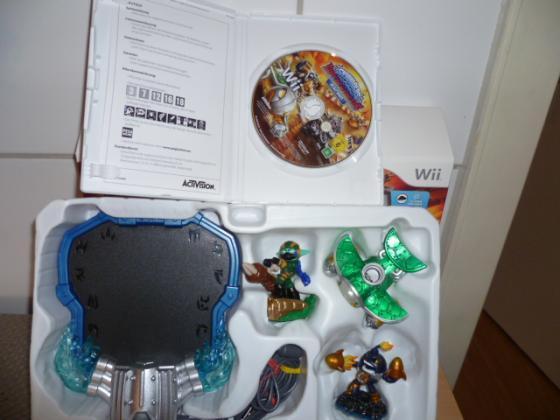 Wii 31 Skylander Figuren und vieles mehr Nr.31