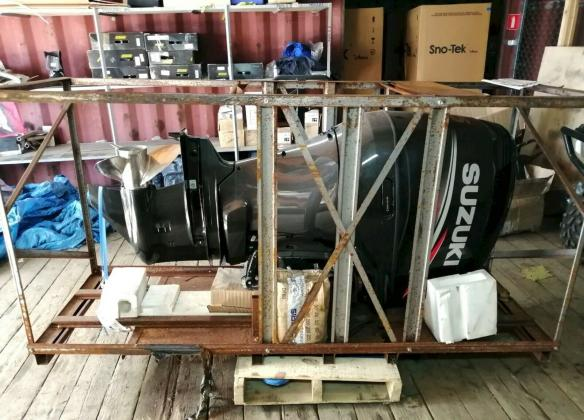 Außenbordmotor Suzuki DF 225 TX