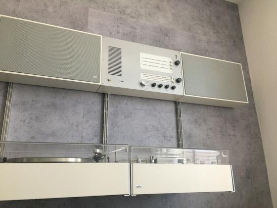 Braun Wandanlage TS 45, L450, TG 550, PS 500